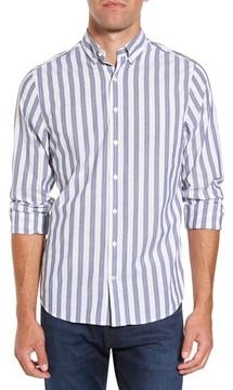 Gant Men's Slim Fit Tech Varsity Stripe Sport Shirt