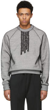 DSQUARED2 Grey 50s Prom Cool Sweatshirt