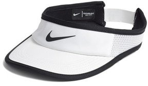 Nike Women's Court Aerobill Tennis Visor - White