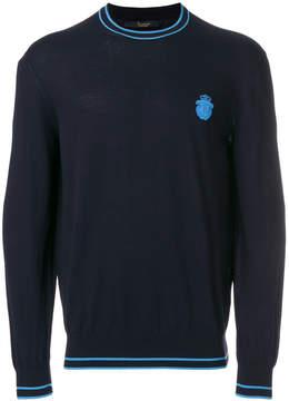 Billionaire contrast trim sweatshirt