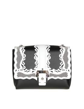 Paula Cademartori Alice Shoulder Bag In Black Leather