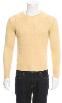 Loro Piana Cashmere Cable Knit Sweater