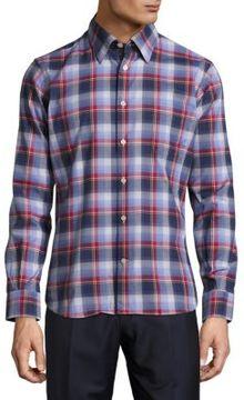 Robert Talbott Meyers Casual Long-Sleeve Sportshirt