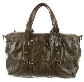 Theory Patent Leather Satchel