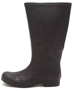 Chooka Womens Flex Fit Elastic Rubber Closed Toe Knee High Cold Weather Boots.