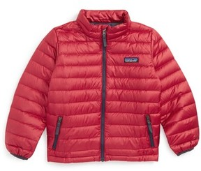 Patagonia Toddler Boy's Water Repellent 600-Fill Power Down Sweater Jacket