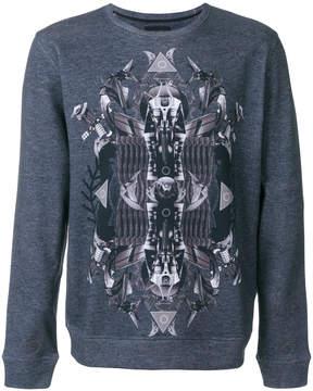 Frankie Morello printed sweatshirt