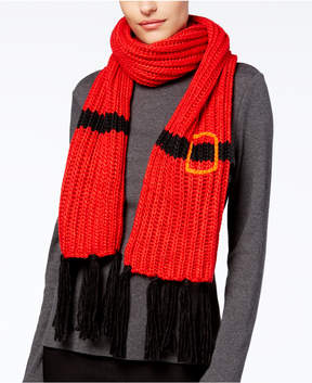 Collection XIIX Santa Fringe Knit Scarf