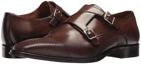 Matteo Massimo Double Monk Perf Cap Men's Slip on Shoes