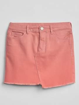 Gap Asymmetrical Denim Mini Skirt