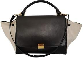Celine Trapeze Black Leather Handbag