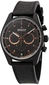 Zenith Chronomaster El Primero Chronograph Automatic Black Dial Men's Watch
