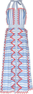 Temperley London Trelliage Striped Dress