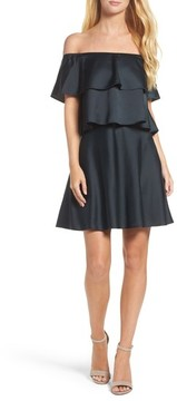 Eliza J Women's Off The Shoulder Popover Dress