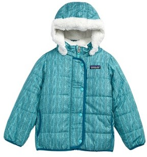 Patagonia Toddler Girl's Dream Song Water Repellent Reversible Jacket