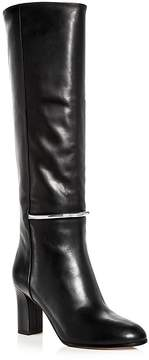 Via Spiga Women's Shaw Leather Tall High-Heel Boots
