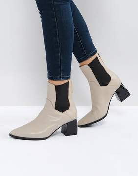 Sol Sana Ronda Stone Leather Ankle Boots