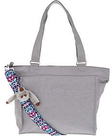 Kipling Nylon Shopper with Printed Strap - ONE COLOR - STYLE