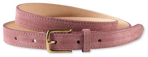 L.L. Bean Signature Suede 3/4 Belt