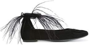Ann Demeulemeester Camoscio ballerina shoes