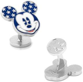 Disney Stars and Stripes Mickey Mouse Cuff Links