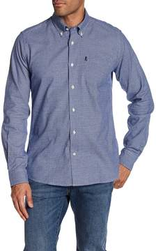 Barbour Ruben Micro Houndstooth Tailored Fit Shirt