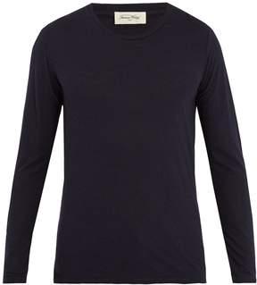 American Vintage Jacksonville long-sleeved cotton-blend T-shirt