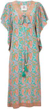 Figue Lena paisley-print midi kaftan dress