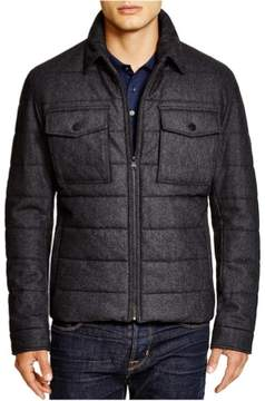 HUGO BOSS Mens Cormac Quilted Jacket Grey 40