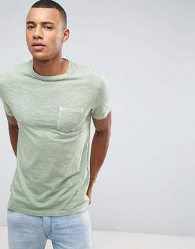 Celio Washed T-Shirt With Pocket
