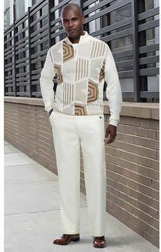 Stacy Adams Men's Honeycomb Knit Set