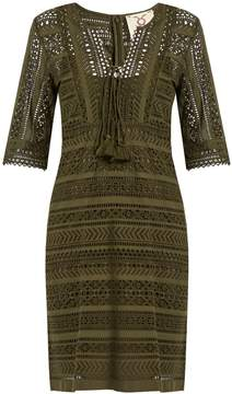 Figue Marlin broderie-anglaise cotton mini dress