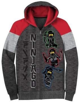 Lego Boys' Ninjago Fleece Jacket Hoodie - Charcoal Heather