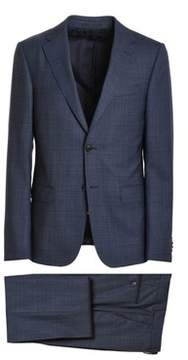 Z Zegna Men's Blue Wool Suit.