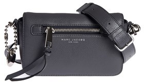 Marc by Marc Jacobs Women's Grey Leather Shoulder Bag. - GREY - STYLE