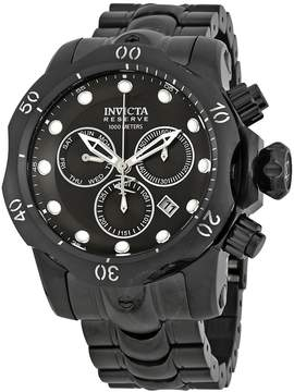 Invicta Reserve Chronograph Black Dial Men's Watch