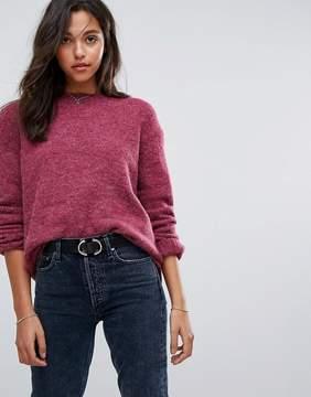 Esprit Drop Hem Knitted Sweater