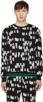 McQ Black Logo Clean Pullover