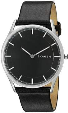 Skagen Men's SKW6220 Holst Analog Display Analog Quartz Black Watch