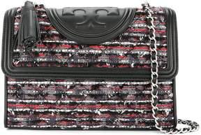 Tory Burch Fleming Tweed shoulder bag