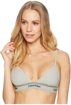 Calvin Klein Underwear Heritage Athletic Unlined Triangle Women's Bra