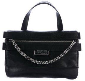 Marc by Marc Jacobs Grained Leather Satchel - BLACK - STYLE