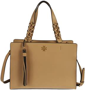 Tory Burch Brooke Tote - NUDE & NEUTRALS - STYLE
