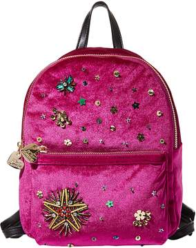 Betsey Johnson LUCKY STAR BEADED BACKPACK
