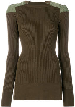 Circus Hotel slim-fit ribbed top