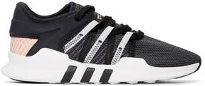 adidas Black and Pink EQT Racing Adv Sneakers