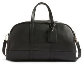 Sole Society Marant Faux Leather Duffle Bag - Black