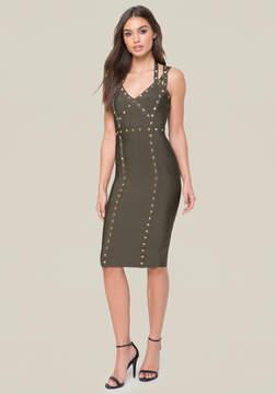 Bebe Embellished 3-Strap Dress