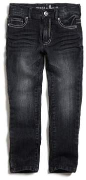 GUESS Boy's Girl's Little Girl MARICANO SKINNY JEANS with BLING Pocket