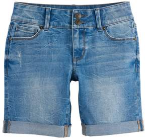 Mudd Girls 7-16 & Plus Size Denim Bermuda Shorts